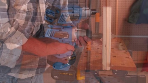 Mastercraft 20V Max High Torque Impact Wrench - image 6 from the video