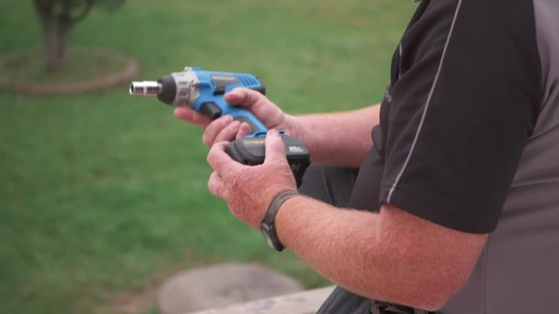 Mastercraft 20V Max High Torque Impact Wrench - image 8 from the video