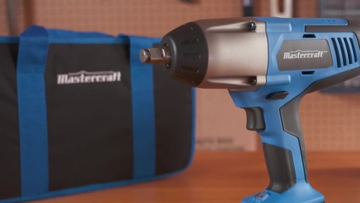 Mastercraft 20V Max High Torque Impact Wrench - image 9 from the video