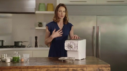 Philips Pasta Maker Recipe Video with Christine Tizzard - image 1 from the video