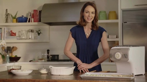 Philips Pasta Maker Recipe Video with Christine Tizzard - image 5 from the video