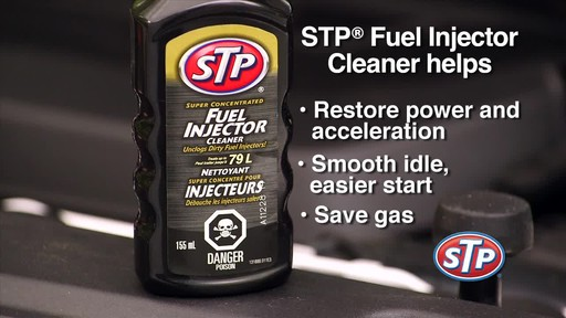 STP Fuel Injector Cleaner - image 7 from the video