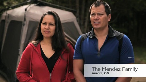 Mendez Family's Review of the Coleman Instant Tent from Canadian Tire - image 1 from the video