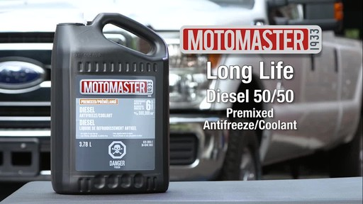 MotoMaster Diesel 50/50 Premixed Antifreeze/Coolant - image 1 from the video