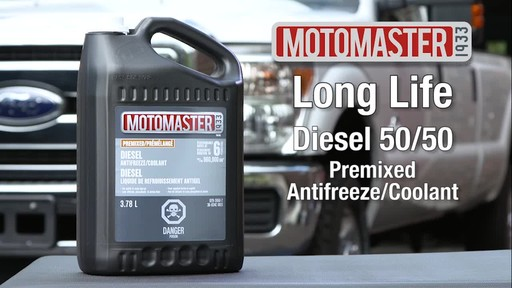 MotoMaster Diesel 50/50 Premixed Antifreeze/Coolant - image 10 from the video