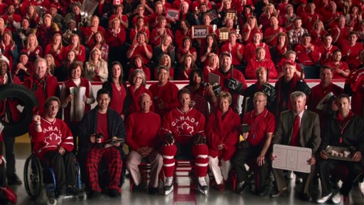 Team Photo – 30 second commercial From Canadian Tire (We all play for Canada) - image 7 from the video