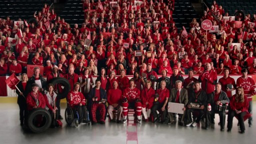 Team Photo – 30 second commercial From Canadian Tire (We all play for Canada) - image 8 from the video