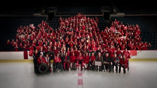 Team Photo – 30 second commercial From Canadian Tire (We all play for Canada) - image 9 from the video