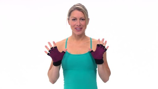 Gaiam Super Grippy Yoga Gloves     - image 1 from the video