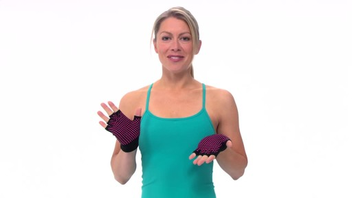 Gaiam Super Grippy Yoga Gloves     - image 10 from the video
