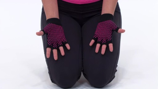 Gaiam Super Grippy Yoga Gloves     - image 3 from the video