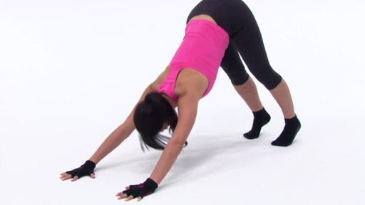 Gaiam Super Grippy Yoga Gloves     - image 6 from the video