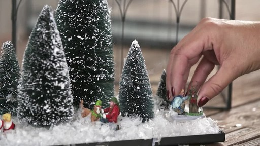 Create a wintery terrarium - image 7 from the video