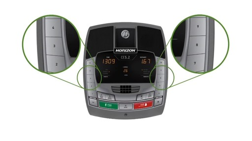 Horizon CE5.2 Elliptical Trainer - image 5 from the video