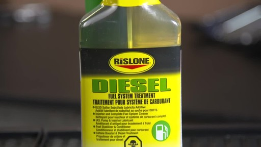 Rislone Diesel Fuel System Treatment - image 5 from the video
