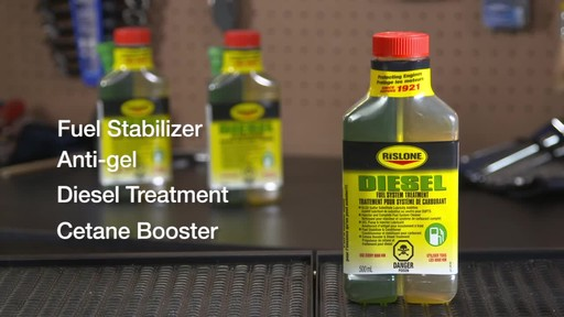 Rislone Diesel Fuel System Treatment - image 6 from the video