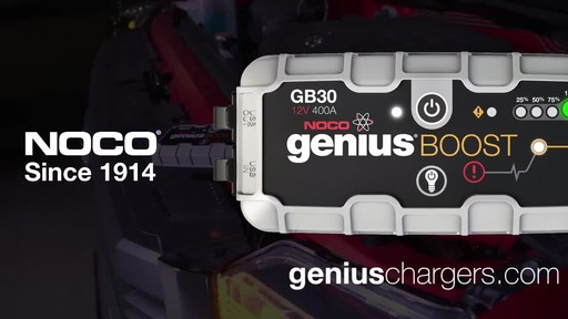 Boost Vs. Traditional Jump Starter: NOCO Genius GB30 Boost, Lithium Ion Jump Starter - image 10 from the video
