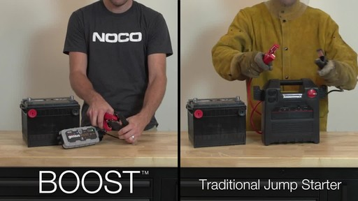 Boost Vs. Traditional Jump Starter: NOCO Genius GB30 Boost, Lithium Ion Jump Starter - image 2 from the video