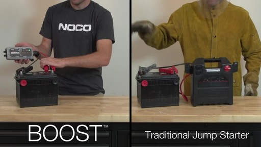 Boost Vs. Traditional Jump Starter: NOCO Genius GB30 Boost, Lithium Ion Jump Starter - image 4 from the video