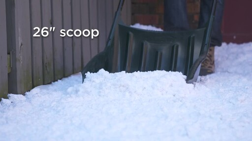 Yardworks Sleigh Shovel, 22-in - image 2 from the video