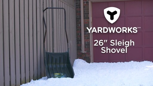 Yardworks Sleigh Shovel, 22-in - image 9 from the video