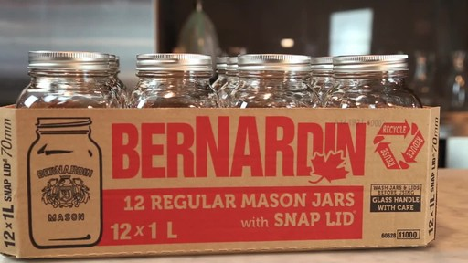 Bernardin Regular 1 L Mason Jar - image 6 from the video