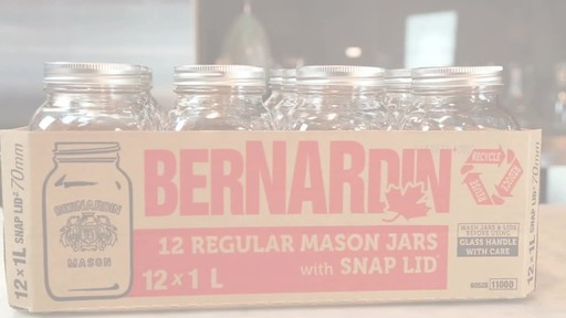 Bernardin Regular 1 L Mason Jar - image 7 from the video