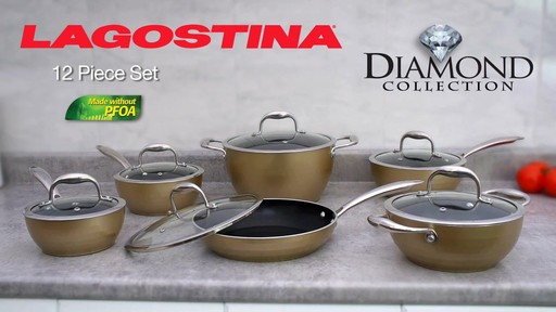 Lagostina Diamond Collection Cookset, 12-pc - image 10 from the video