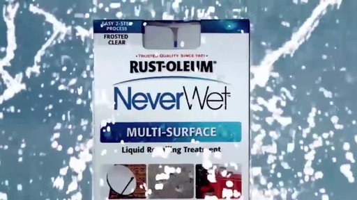 Rust-oleum Never Wet - image 6 from the video