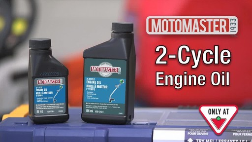MotoMaster 2-Cycle Oil - image 10 from the video