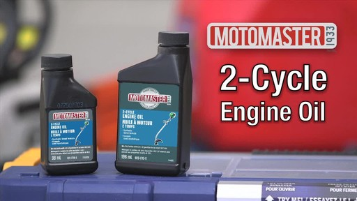 MotoMaster 2-Cycle Oil - image 9 from the video