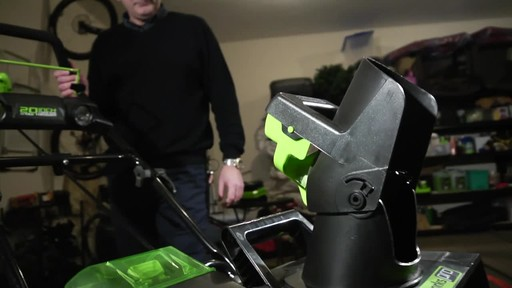 Greenworks 80V Brushless Snowthrower - Tony's Testimonial - image 6 from the video
