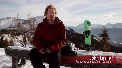 Para Snowbarder John Leslie describes his journey to the Paralympics - image 3 from the video