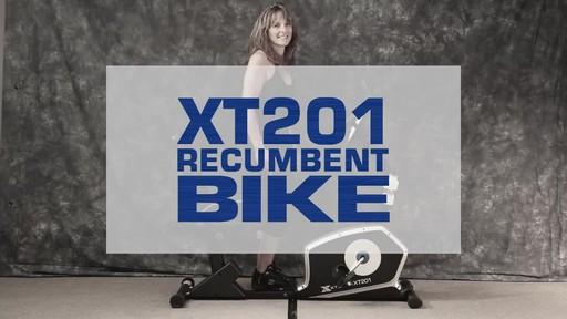 Xterra XT201R Recumbent bike - image 1 from the video