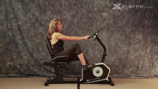 Xterra XT201R Recumbent bike - image 3 from the video