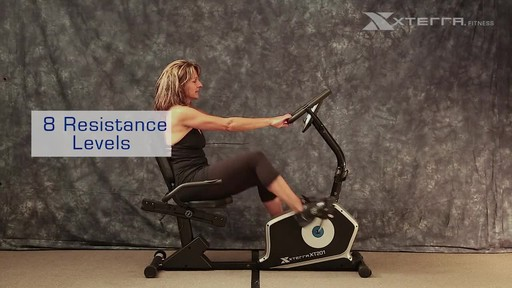 Xterra XT201R Recumbent bike - image 4 from the video
