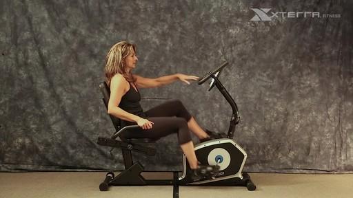 Xterra XT201R Recumbent bike - image 7 from the video