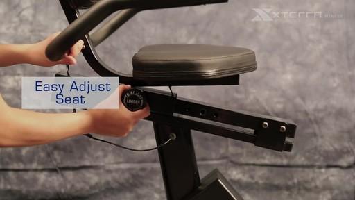 Xterra XT201R Recumbent bike - image 9 from the video