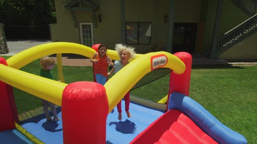 Little Tikes Jump 'n Slide Bouncer - image 1 from the video