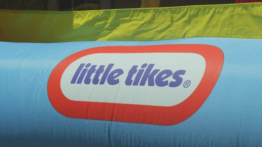 Little Tikes Jump 'n Slide Bouncer - image 4 from the video