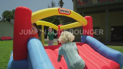 Little Tikes Jump 'n Slide Bouncer - image 6 from the video