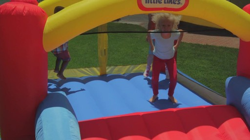 Little Tikes Jump 'n Slide Bouncer - image 7 from the video
