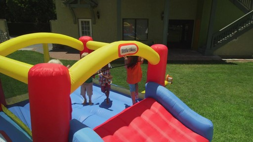 Little Tikes Jump 'n Slide Bouncer - image 9 from the video