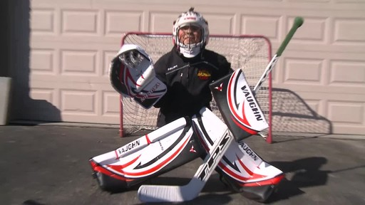 Vaughn Street Hockey Goalie Pads, Senior - Jeremy's Testimonial - image 10 from the video