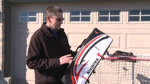 Vaughn Street Hockey Goalie Pads, Senior - Jeremy's Testimonial - image 2 from the video