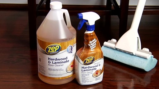 ZEP Commercial Hardwood and Laminate Floor Cleaner - image 9 from the video