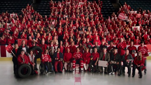Ode To Rink Flooders  – TV commercial (We All Play for Canada) - image 8 from the video