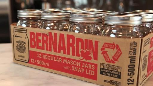 Bernardin Regular 500 ml Mason Jar - image 2 from the video