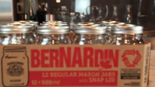 Bernardin Regular 500 ml Mason Jar - image 4 from the video