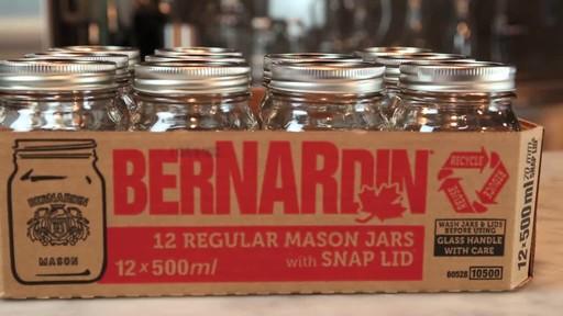 Bernardin Regular 500 ml Mason Jar - image 5 from the video